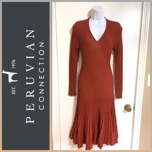 PERUVIAN CONNECTION Serenata Pima Cotton Dress S
